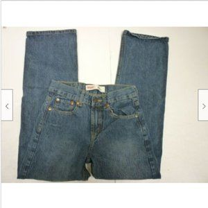 Levi Strauss 550 Relaxed Boys Size 14 Slim Jeans